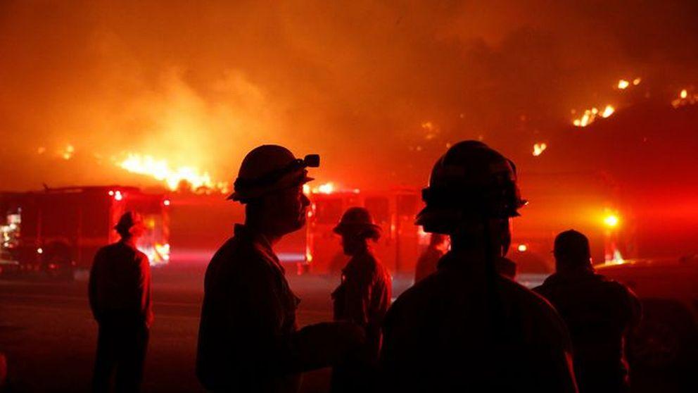 Svåra bränder rasar fortsatt i Los Angeles-regionen i södra Kalifornien i USA.