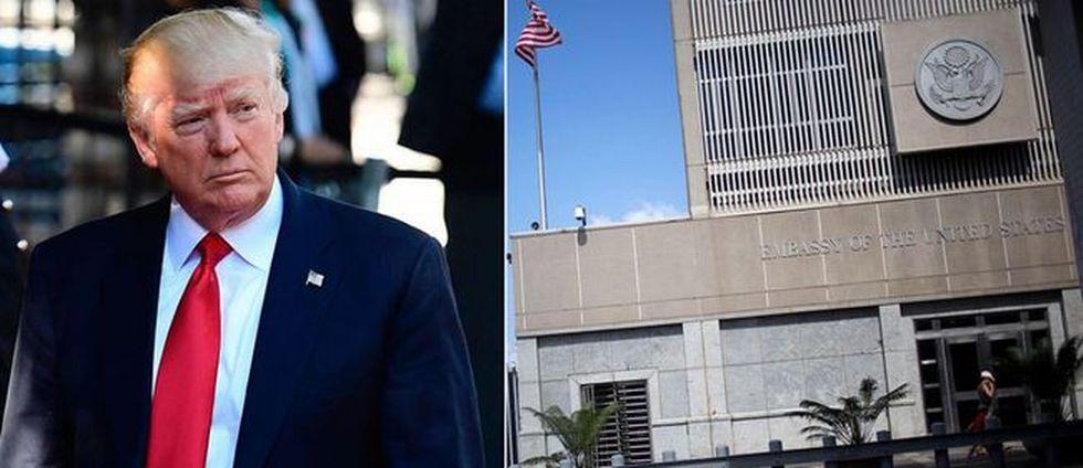 Trump: Ambassad flyttas till Jerusalem