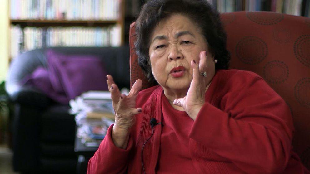 Setsuko Thurlow berättar om bomben mot Hiroshima