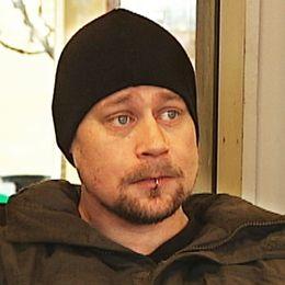32-åriga Mattias Karlsson har varit hemlös sedan han vräktes från sin lägenhet i Falun i januari