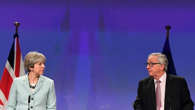 EU och Storbritannien överens om brexit