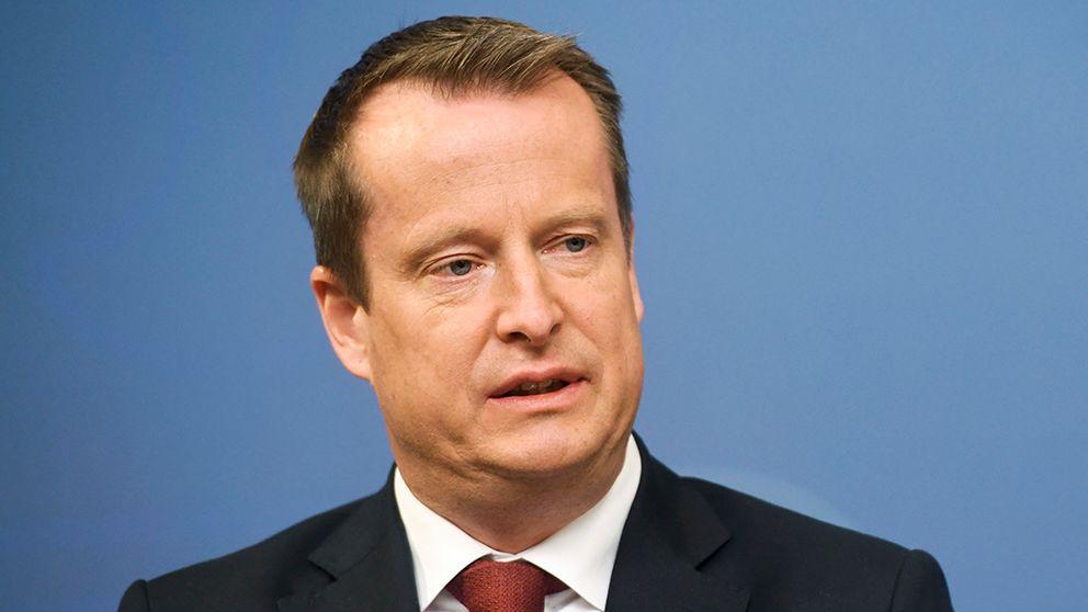 Socialdemokraternas gruppledare i riksdagen Anders Ygeman