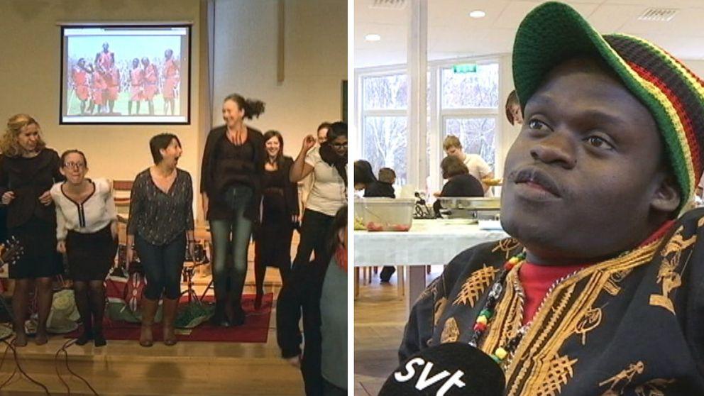 I veckan fick elever och lärare på Betelskolan på Hönö ett ovanligt besök från Afrika. Under en dag blev Baba Gurston hedersrektor på skolan, och eleverna fick bland lära sig sånger och lekar från Kenya.