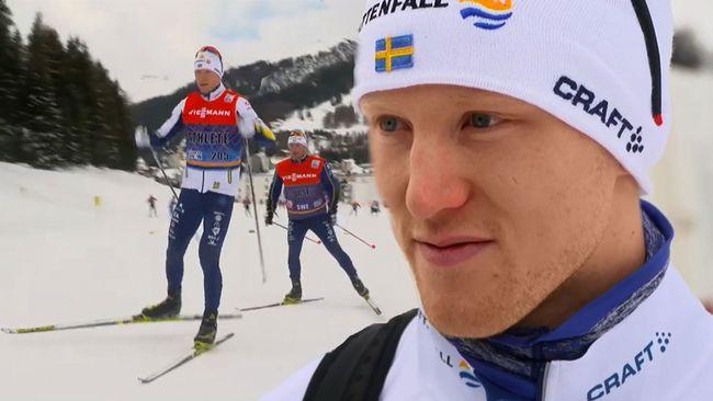 Sverige latt vidare till semi efter ny kross