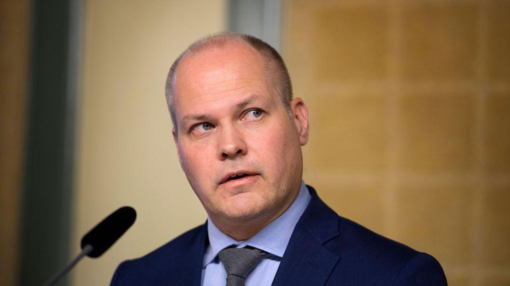 Justitie- och inrikesminister Morgan Johansson (S) reagerar starkt på uppmaningen till våld.