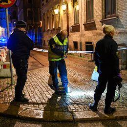 Polisen kommer att stanna på platsen under natten som trygghetsåtgärd.