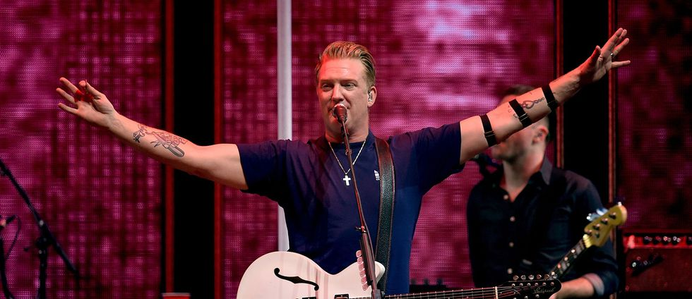 Josh Homme, frontman i rockbandet Queens of the Stone Age.