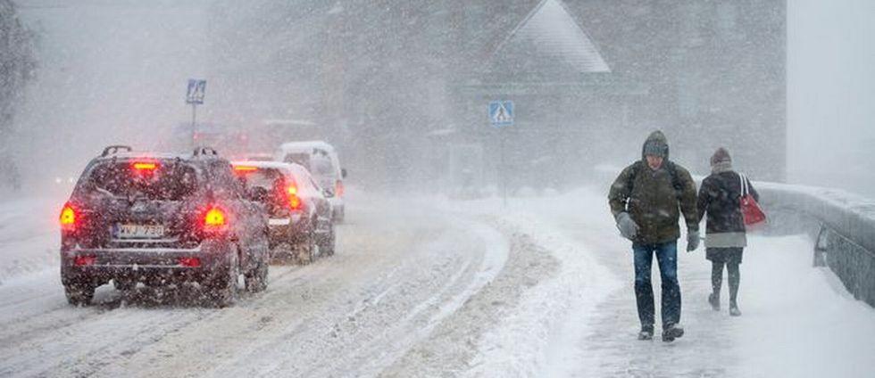 SVT:s meteorolog: Snöovädret kan ta ny fart