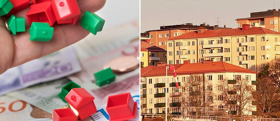Majoritet av svenskarna tror på fallande bostadspriser
