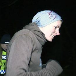 Kristin Adler joggar numer bara i sällskap med polis.