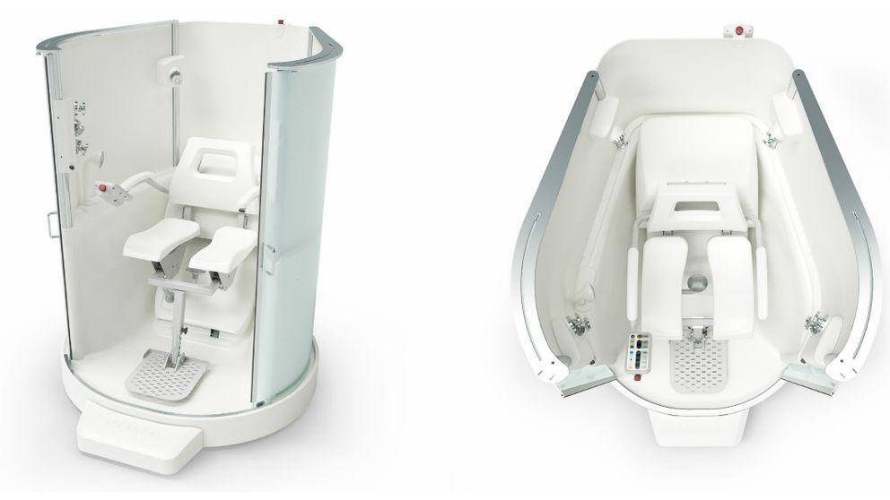 Den intelligenta duschen som ska testas i Karlstad och fyra andra kommuner.