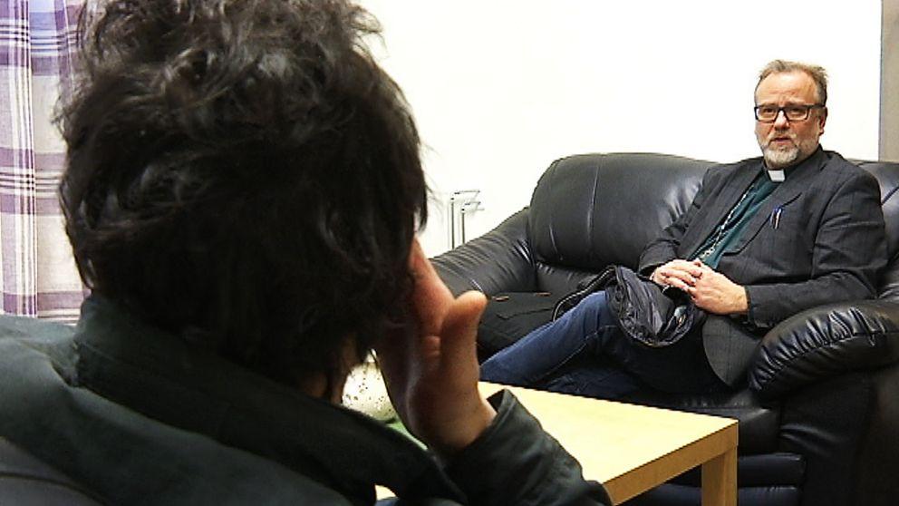 """""""Man skulle inte göra en natt där de hemlösa bor"""", säger Lars Söderberg, diakon i domkyrkoförsamlingen"""