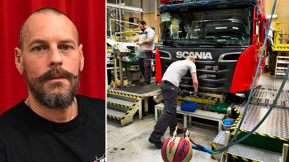 Mikael Gustafsson är vice ordförande för verkstadsklubben IF Metall.
