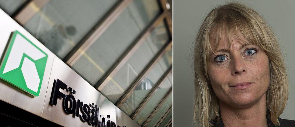 SD:s riksdagsledamot Jennie Åfeldt.