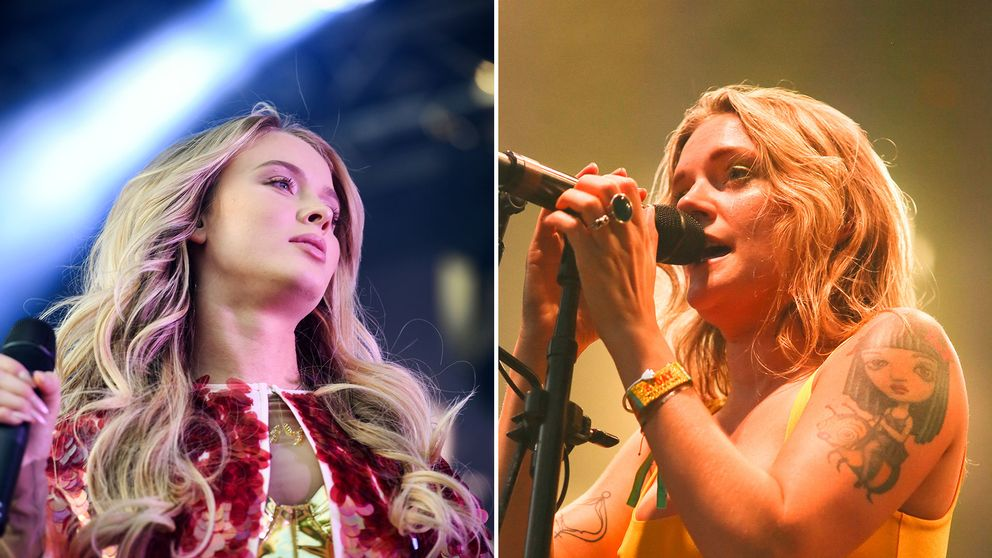 Zara Larsson och Tove Lo.