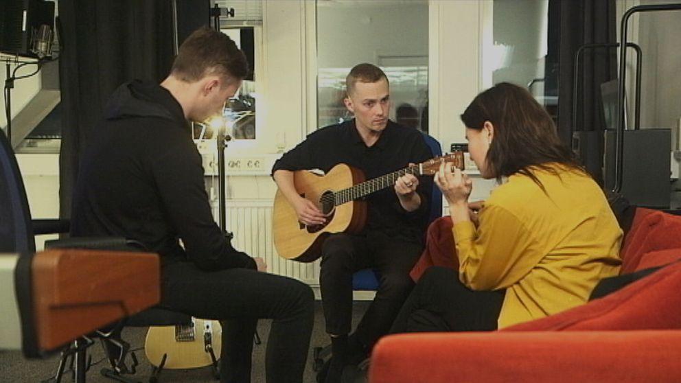 Elever på Musikmakarna