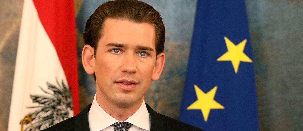 Österrikes nye kansler tillika Europas yngsta regeringschef Sebastian Kurz.