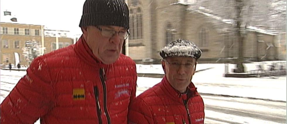 Prästerna Johan Svedberg och Anders Lennartsson
