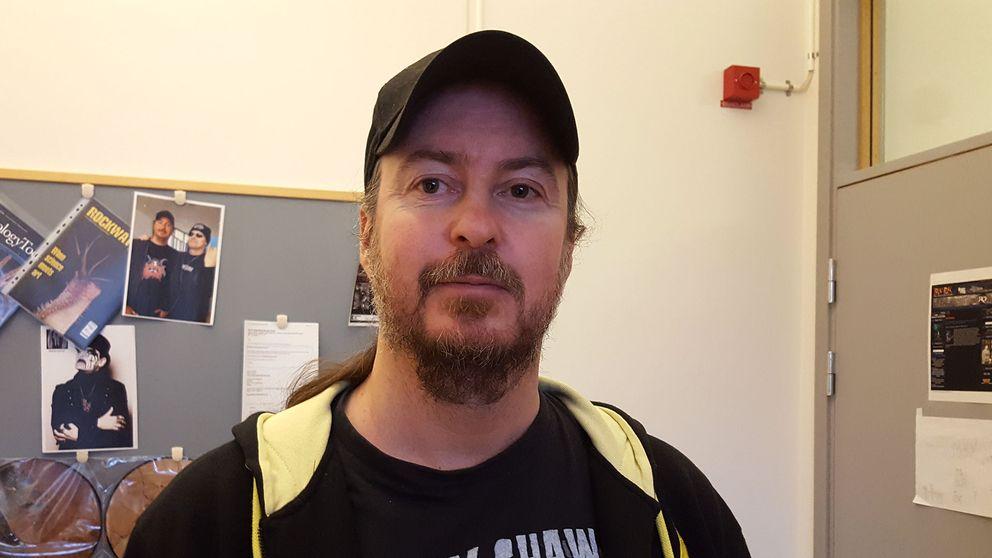 Mats E Eriksson är professor i paleontologi vid Lunds universitet och hårdrockare.