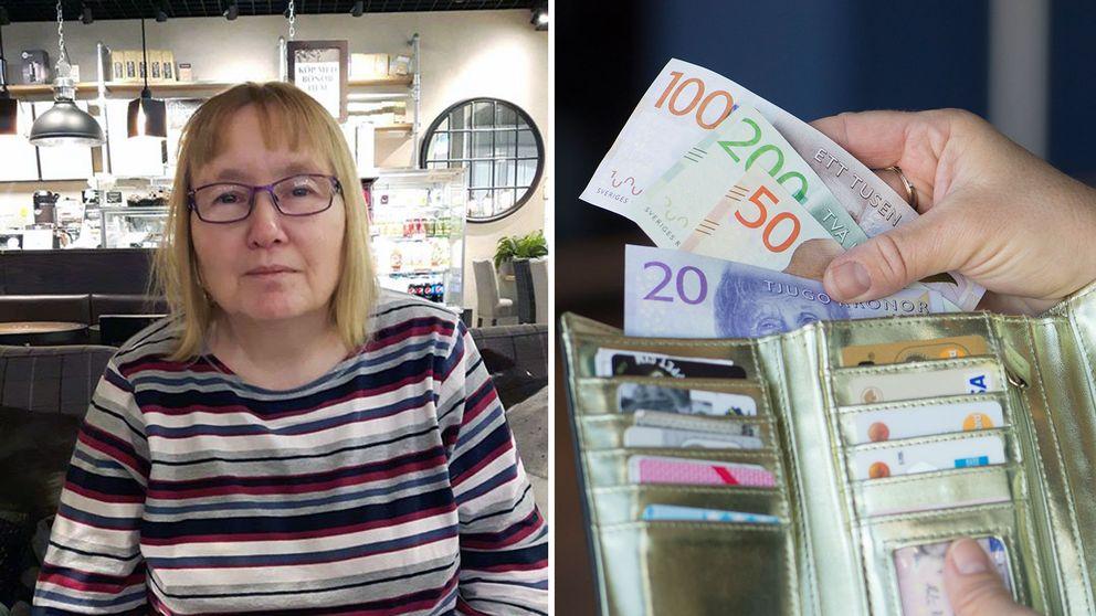 Anette Gullming, stöld, bestulen, pengar, gruppboende