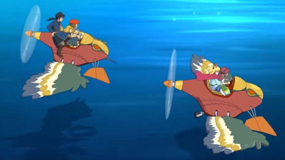 Nino no kuni II ser ut att fånga känslan av Studio Ghiblis magiska animévärldar.