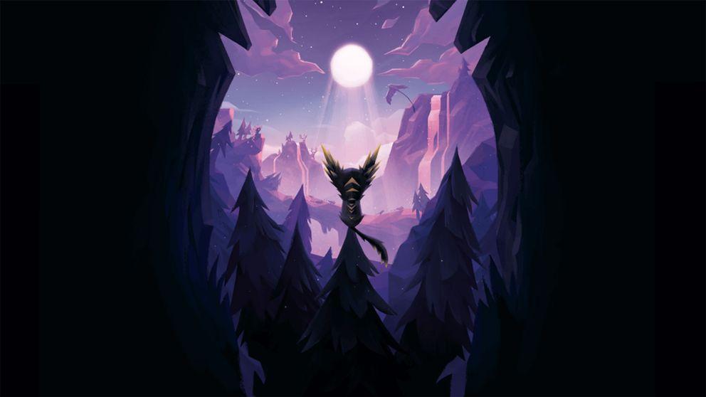 Den rävliknande figuren Fe sjunger sig fram genom mystiska skogar i svenska indiespelet Fe