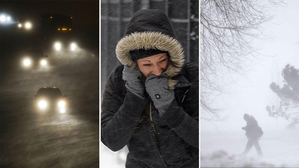 SMHI har utfärdat en klass 2-varning för storm och stormbyar på flera platser.