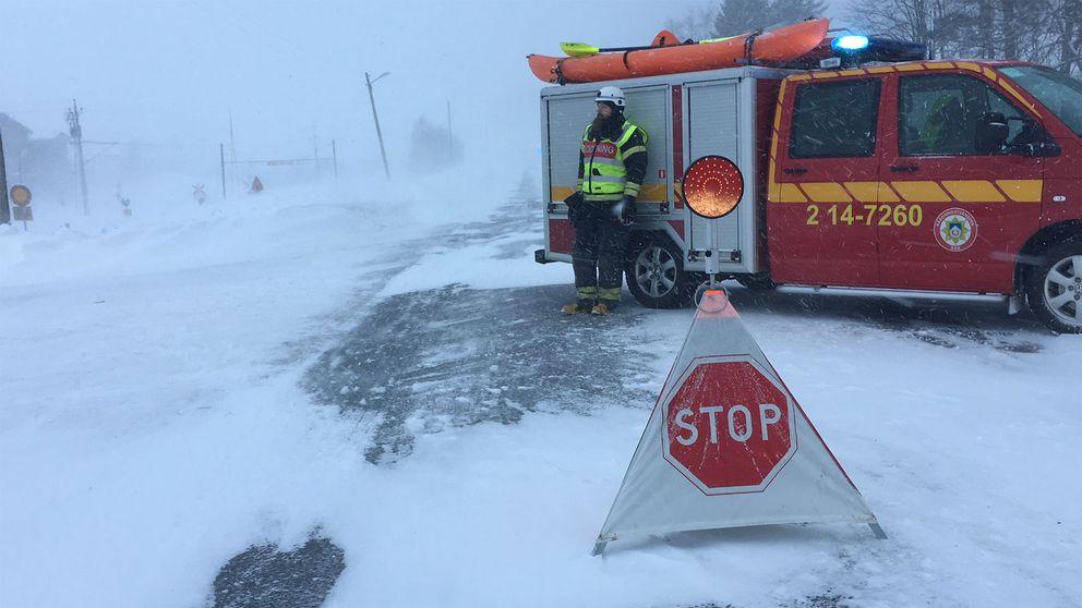 Olycka i närheten av Åre