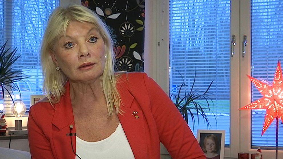 Anne-Lie Liljedahl (S), ordförande i socialnämnden i Motala.