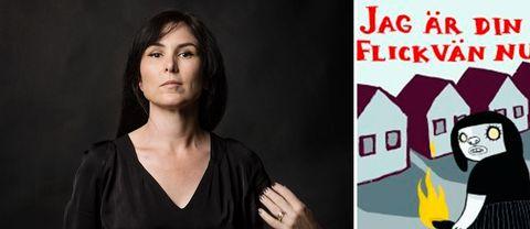 """Nina Hemmingssons seriealbum """"Jag är din flickvän nu"""" blir teater i vår."""