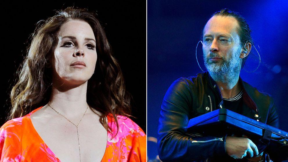 Lana Del Rey och Radioheads frontman Thom Yorke