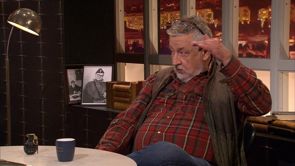 """Leif GW berättar i Veckans brott hur den så kallade """"dödspatrullen"""" arbetar."""