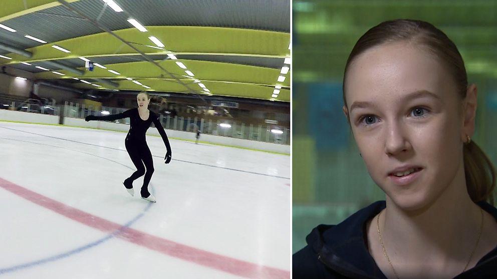 Konståkerskan Anita Östlund