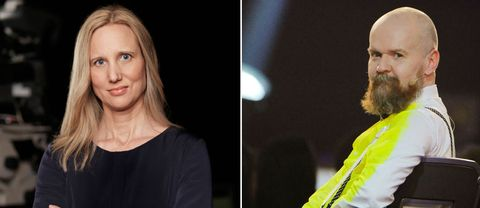 Viveka Hansson menar att det måste vara högt i tak i medievärlden, med anledning av kritiken mot Alexander Bard.