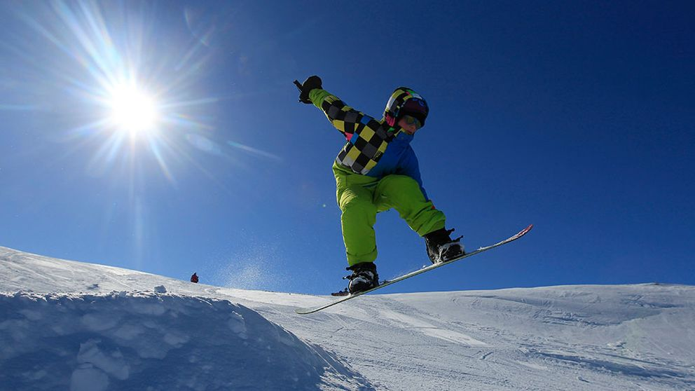 snowboard skidåkning skidbacke