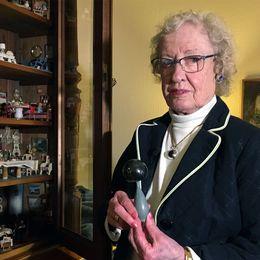 Marianne Asplund är jättenöjd med sitt miniatyrhem.