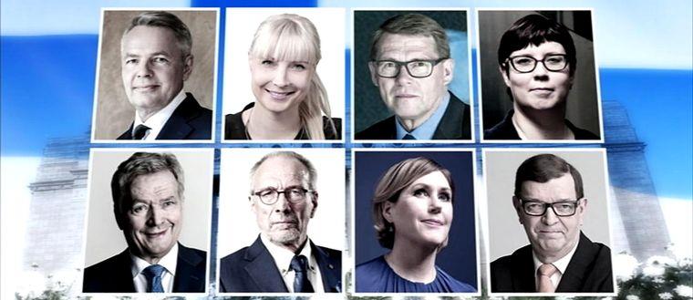 Stockholmarna om presidentkandidaterna