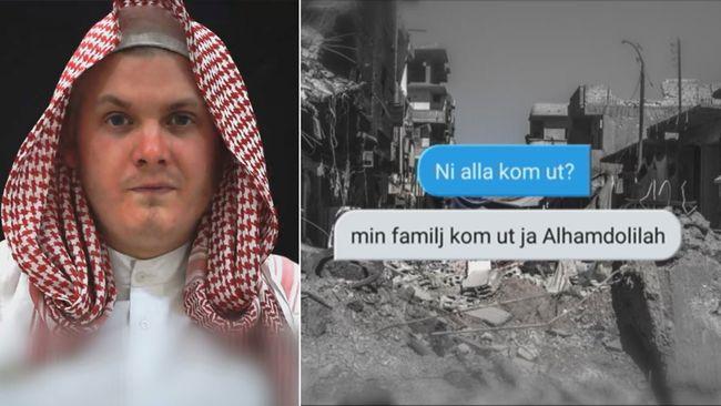 SMS-kommunikation avslöjar: Så tog sig känd IS-svensk ut ur Raqqa
