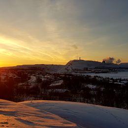 Kiruna, 14/1-18.