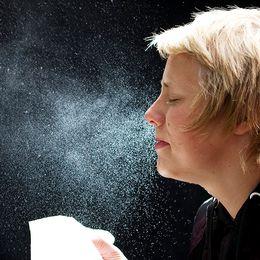Farligt att hålla tillbaka nysning