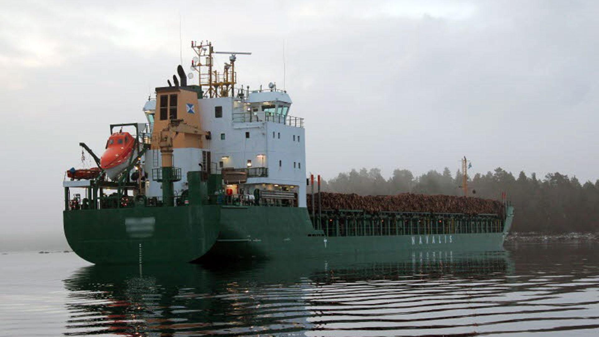 Fartyg pa grund i kalmarsund 2