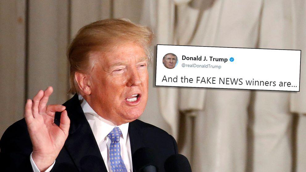 Trump och hans tweet om utmärkelserna