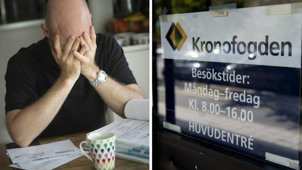 Hundratals redan skuldsatta svenskar hotas av indrivning via Kronofogden på lån de påstår att de aldrig har tagit
