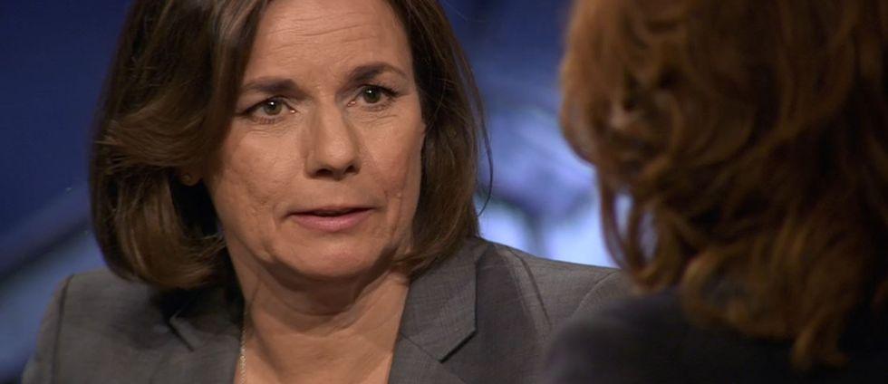 Miljöpartiets språkrör Isabella Lövin menar att den upptrissade retoriken om säkerhetsläget i Sverige tar för stor plats i debatten.