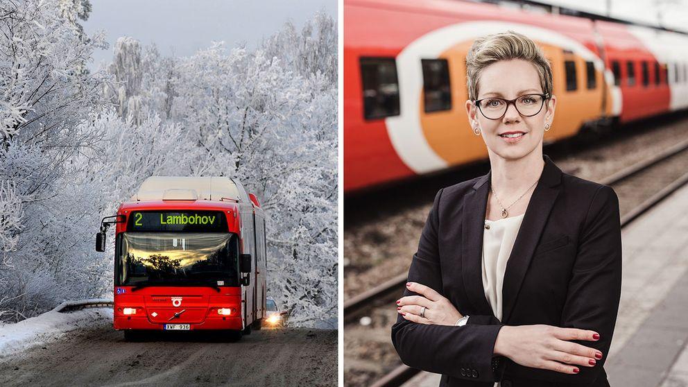 Sofia Malander, VD för Östgötatrafiken