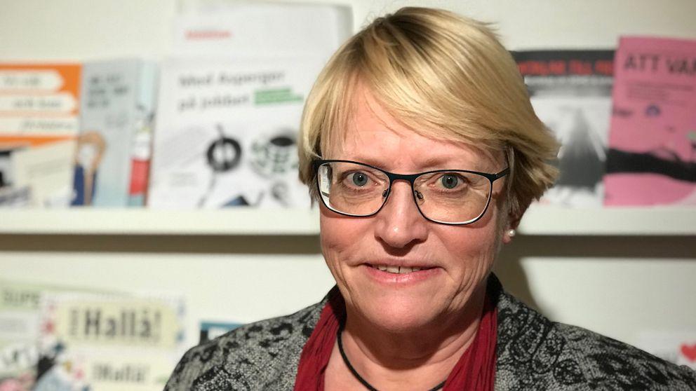 Ing-MarieWieselgren, samordnare för psykisk hälsa på Sveriges kommuner och landsting.