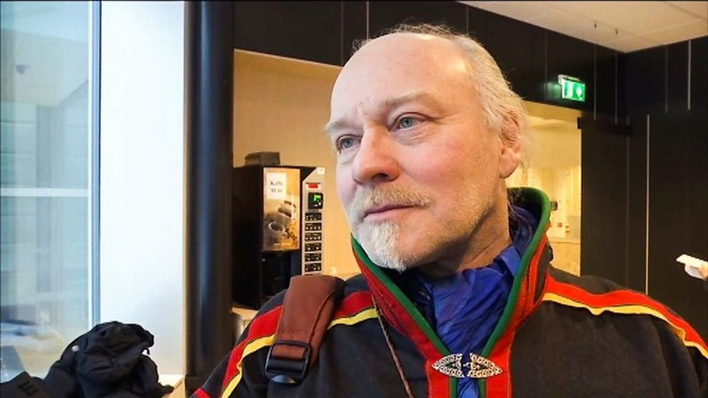 Girjas ordförande Matti Berg