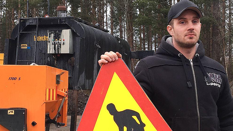 Timmy Edström hävdar att han handlade i nödvärn.