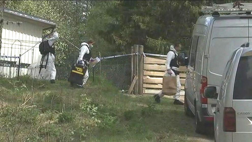 En 36-årig man åtalades på fredagen för mord i en fastighet i Gräsmark i slutet av maj.
