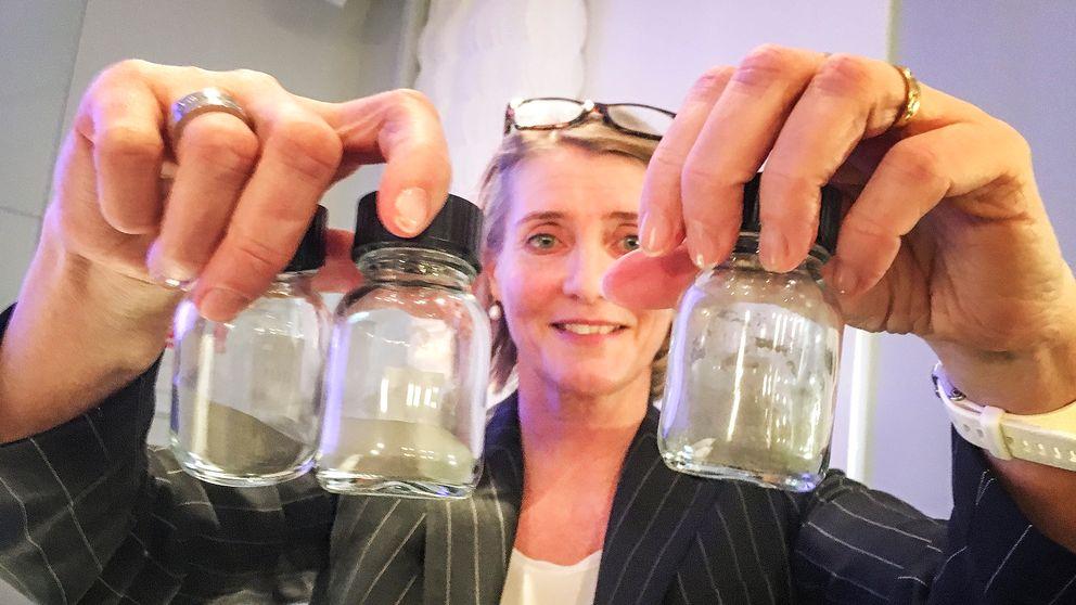 Annika Roos, chef för powder vid SMT.